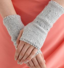 Sparkling Knit Wristers