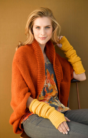 Knitting Patterns Galore Harvest Shrug
