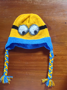 """Despicable Me"" Minoin Earflap Hat"