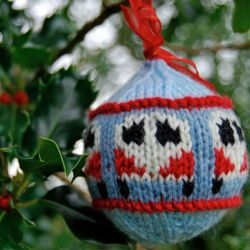 "Festive ""Dub Ball"" Campervan Bauble"