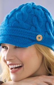 Newsy Cabled Cap