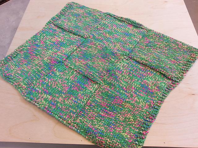 Knitting Patterns Galore 9 Square Preemie Blanket