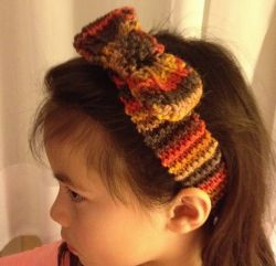 Headband With A Bow