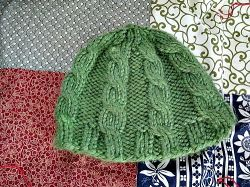 Chunky Knit Cabled Hat