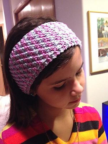 Knitting Patterns Galore - Stars Headband