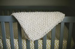 Easy Chunky Baby Blanket