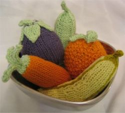 Baby Fruit and Veggie Rattle