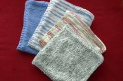 Plain & Simple Burp & Wash Cloths