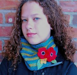 Mayme Corsage Cowl