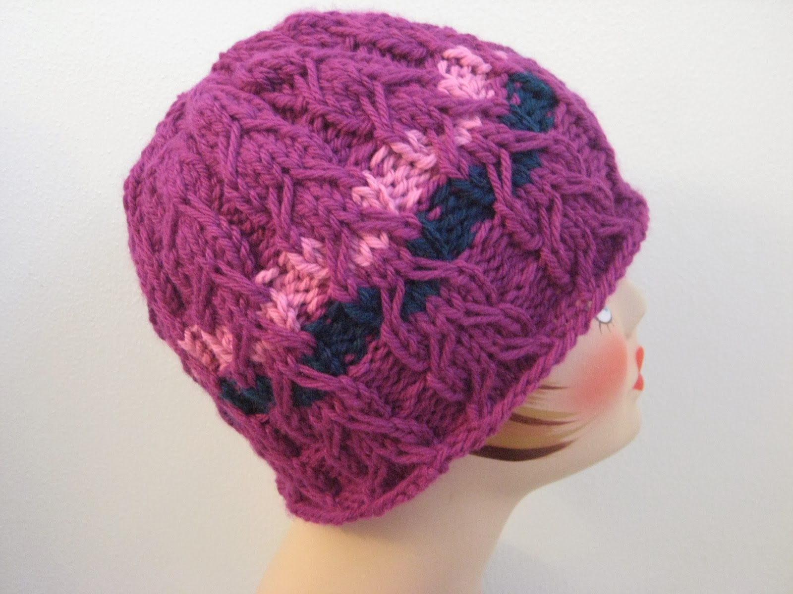 Knitting patterns galore slipped cable hat slipped cable hat free knitting pattern bankloansurffo Choice Image