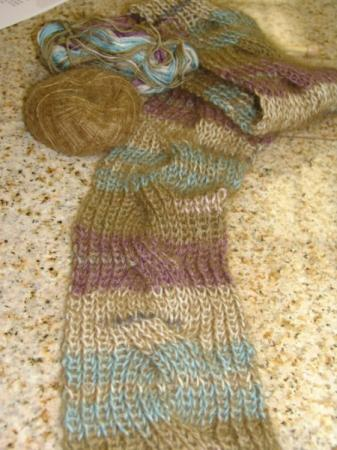 Knitting Patterns Galore Cable Scarf