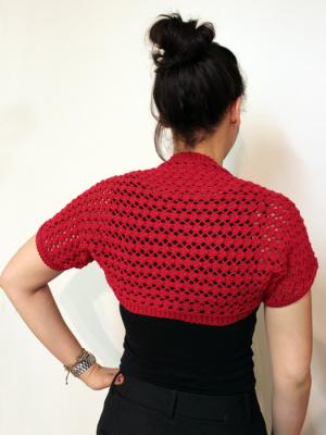 Knitting Patterns Galore Lacy Summer Shrug