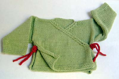Free Knitting Pattern Baby Kimono Sweater : Knitting Patterns Galore - Baby Sachiko Kimono Sweater