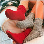 A Simple Knitted Sock Pattern for Beginners