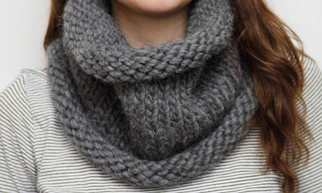 Chunky Knit Cowl Pattern Free : Knitting Patterns Galore - Chunky Cowl
