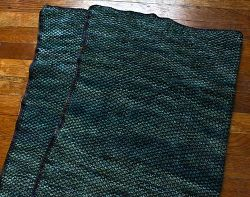 Super Simple Seed Stitch Baby Blanket