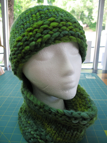 Knitting Patterns Galore 40hour Hat And GaiterNeckwarmerHeadband Beauteous Free Knitting Patterns Bulky Yarn