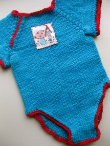 Knitted Baby Onesie