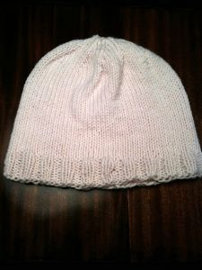 Simple 2x2 Rib Trim Hat