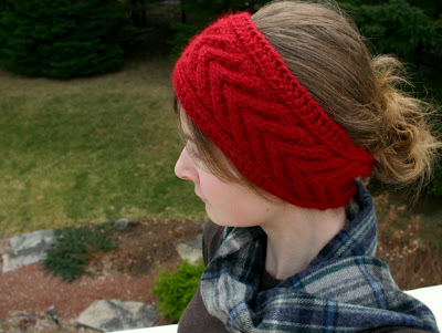 Knitting Patterns Galore Horseshoe Cable Headband