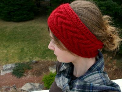 Knitting Patterns Galore Horseshoe Cable Headband