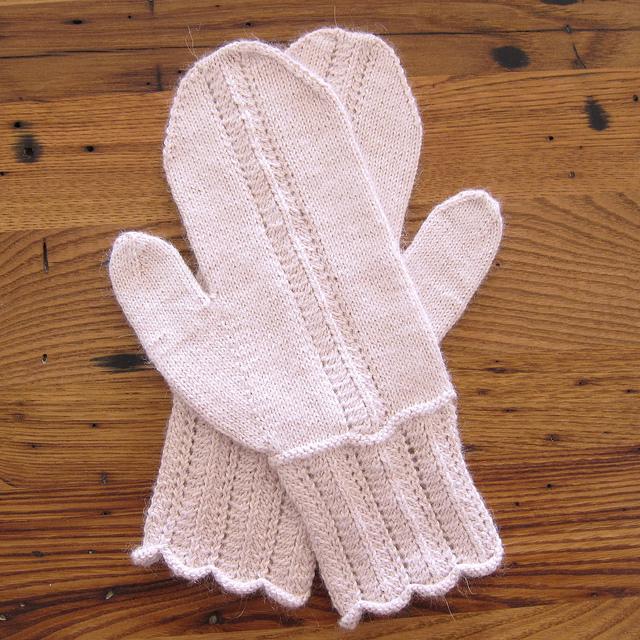 Knitting Patterns Galore February Mittens
