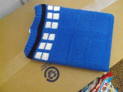 Tardis Netbook/Kindle Cover