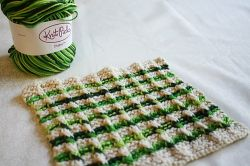 Twisted Columns Dishcloth