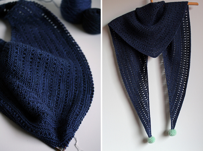 Free Triangle Scarf Knitting Pattern : Knitting Patterns Galore - Unilintu