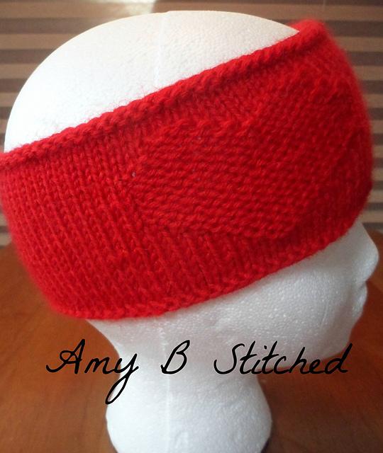 Knitting Patterns Galore - Youre My Heart Headband