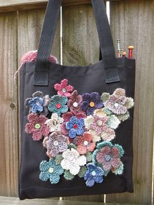 Field of Flowers Recycled Tote Bag