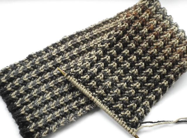 Knitting Patterns Galore Bracken Mens Scarf