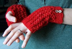 Cherry Red Handwarmers