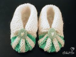 My Version of Baby Shoes Pattern