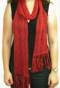 Kid Seta Lace Scarf
