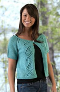 Top-Down Summer Lace Cardigan Shrug