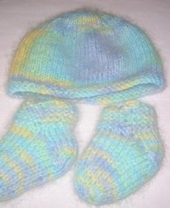 Jimmy's Baby Bootie Set