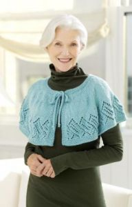 Lacy Knit Capelet