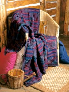 Textured Panels Afghan