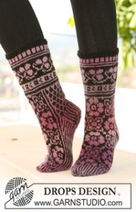 Socks with Pattern