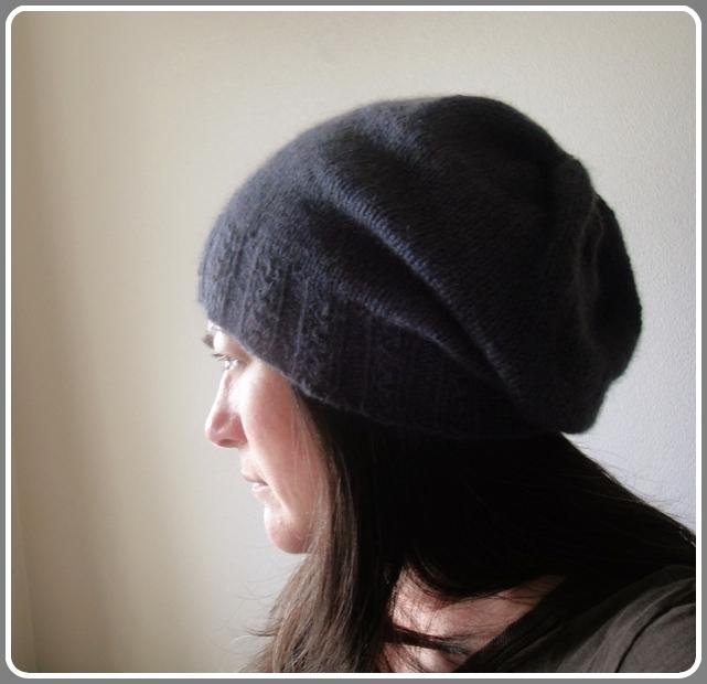 Knitting Patterns Galore Cafe Hat