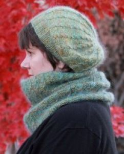 Peavine Hat and Cowl Set