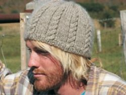 Cabled Cotswold Hat