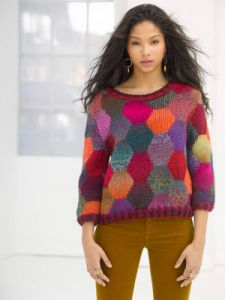 Poetic Color Pullover