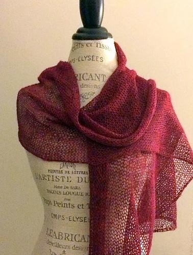 Knitting Patterns Galore - Ethereal Shawl
