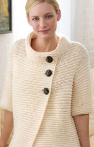 Knit Ribbed Cardigan