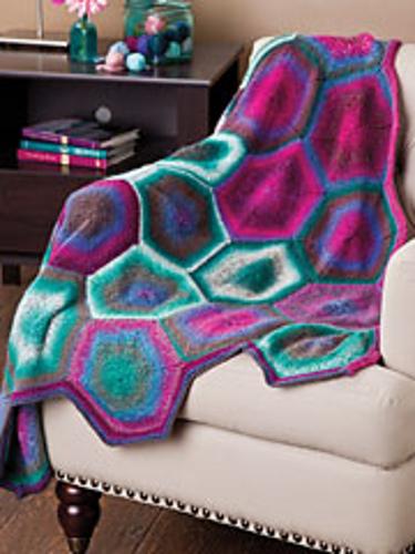 Knitting patterns galore hexagon afghan hexagon afghan free knitting pattern hexagon afghan dt1010fo