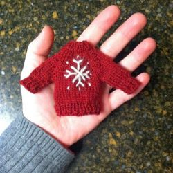 Holiday Sweater Ornament