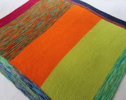 We 'Heart' Koigu Baby Blanket
