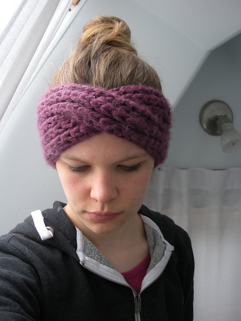 Knitting Patterns Galore - Turban Headband